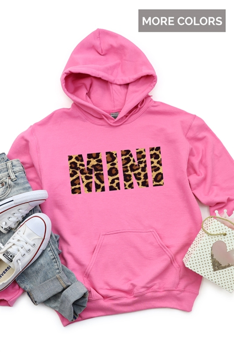 Picture of Leopard Mini Graphic Hoodie