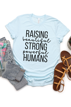 Picture of Raising Strong Humans Graphic Tee