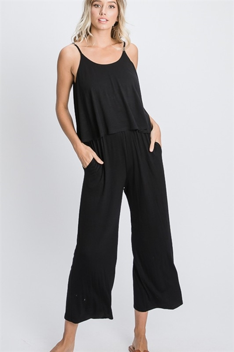 Picture of Marie Cropped Jumpsuit
