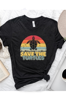 Picture of Save The Turtles Graphic Tee