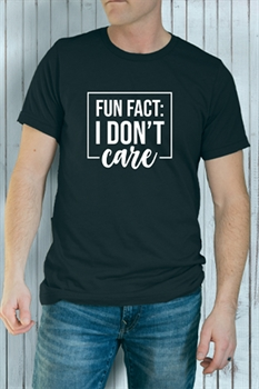 Picture of I Don't Care Graphic Tee